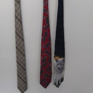 Other - Lot of 3 mens ties